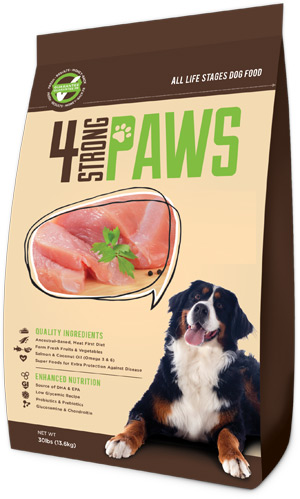 All Life Stages Dog Food 4 Strong Paws